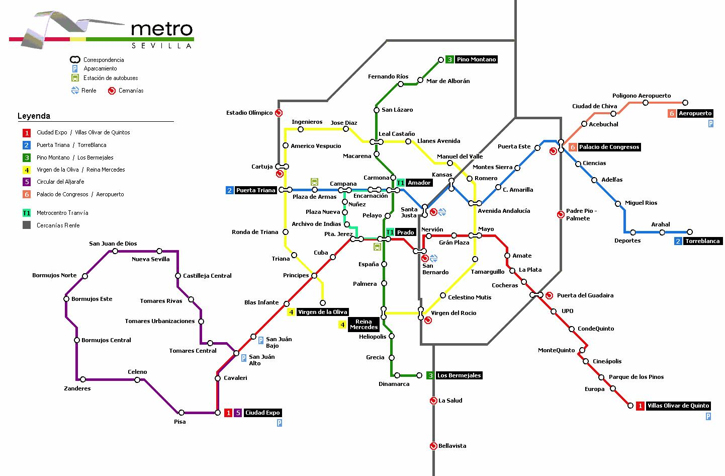 Metro Madrid Map Pdf