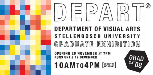 Invitation for the Stellenbosch final year art students