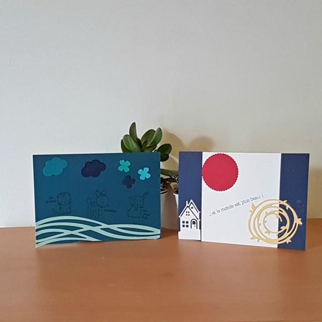 Journée mondiale de la carterie : Cartes de Martine