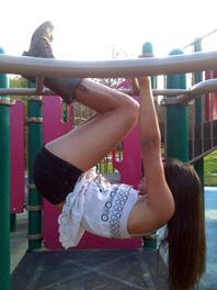 park workout, hamstrings