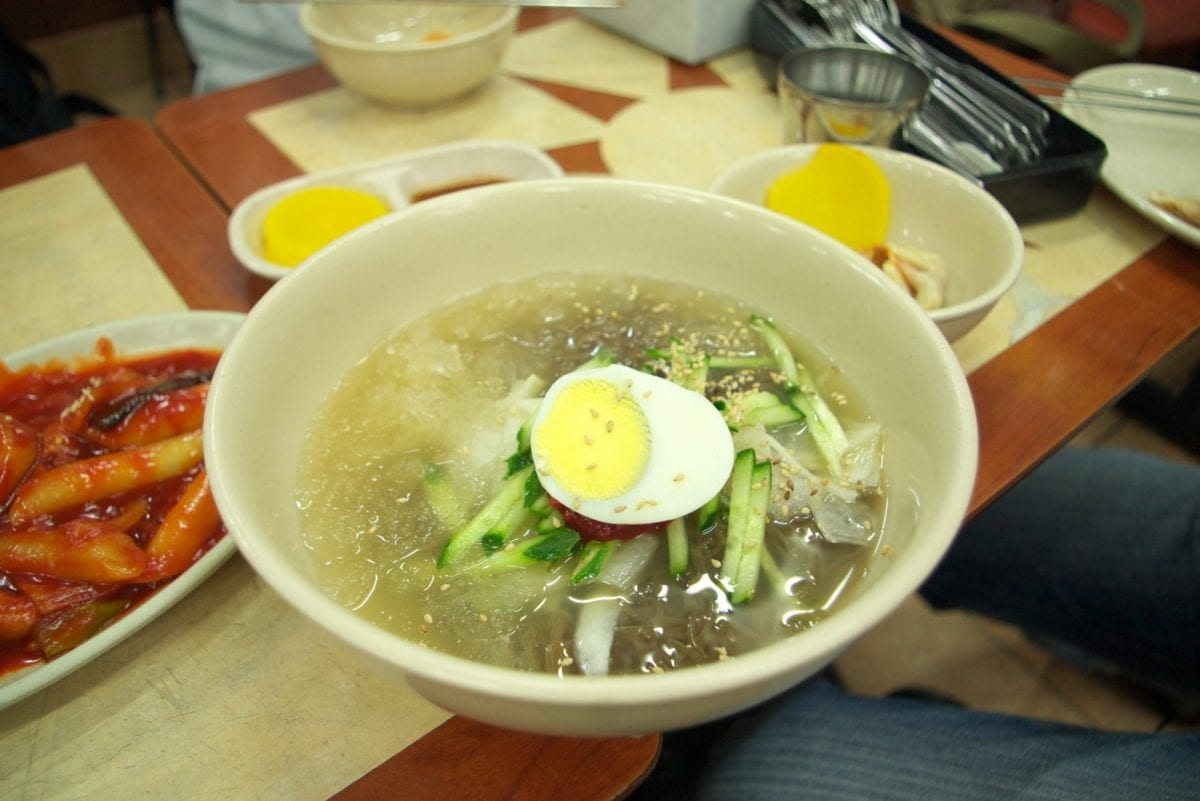 noodles cold naengmyun