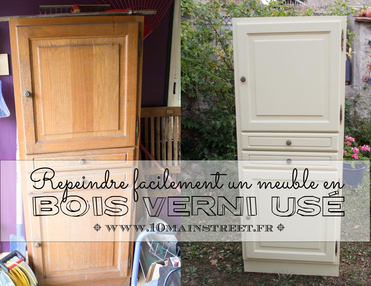 renover un meuble en bois verni use