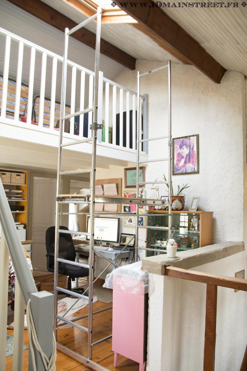 Peindre Un Plafond En Lambris En Un Week End Et Transfigurer Une Piece