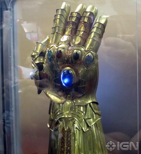 Thor movie Infinity Gauntlet