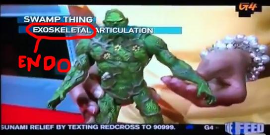 Swamp Thing SDCC 20111 Mattel