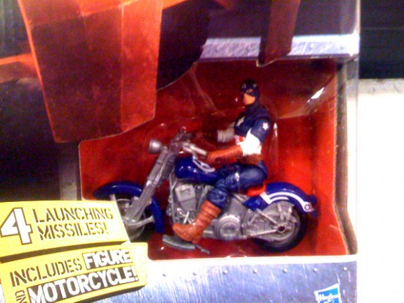 Captain America Movie Figure Chris Evans