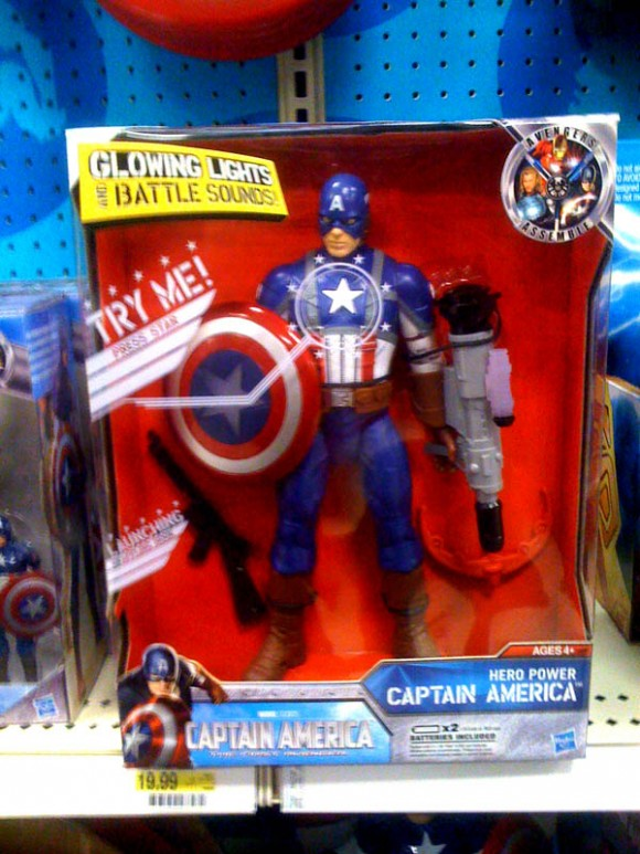 10 inch Captain America Figure in package