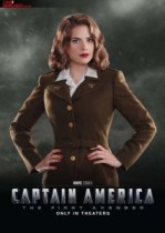 Hayley Atwell as Peggy Carter