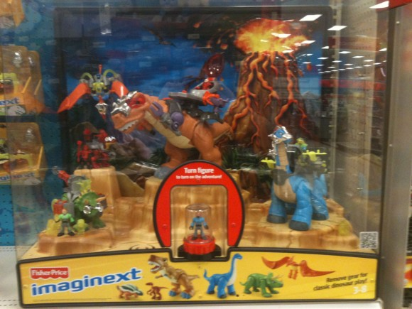 Imaginext Dinos Display
