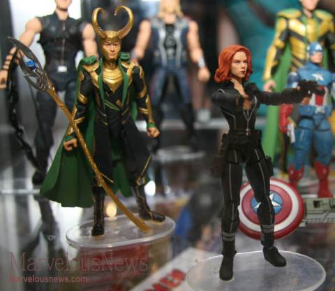 Marvel's Avengers Black Widow and Loki Action Figure
