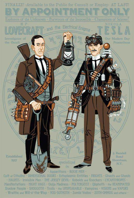 Lovecraft and Tesla!