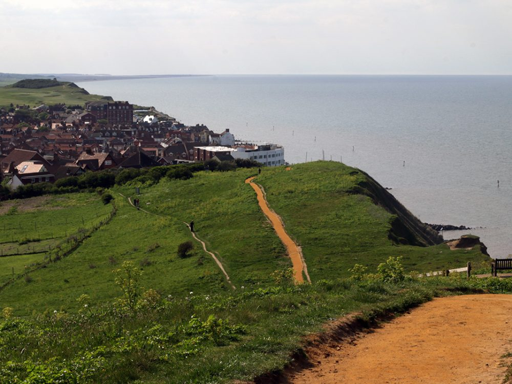 Beeston Bump and Sherringham,UK. Norfolk Coast Path National Trail. Copyright Stephanie Boon, 2018. All Rights Reserved.