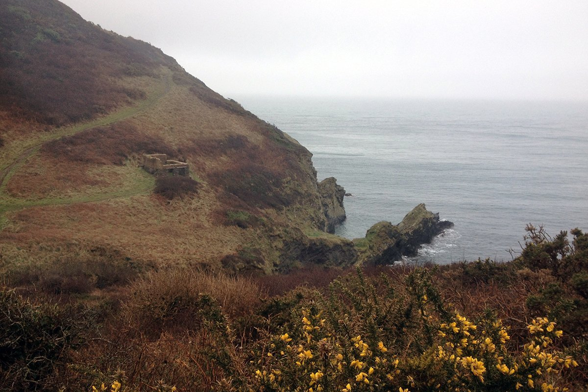 Nare Head. South West Coast Path, Cornwall UK. Portscatho to Veryan. Copyright Stephanie Boon, 2018. All rights Reserved.