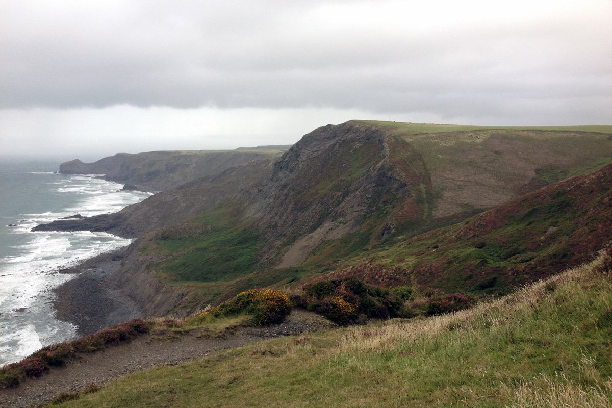 Rusey Cliff ,near Boscastle South West Coast Path, North Cornwall. Copyright Stephanie Boon, 2017. All Rights Reserved.
