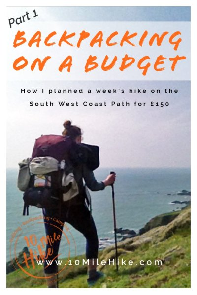 Backpacking on a budget can be done! In this series of 3 articles I share how I planned a 7 - 9 day hiking trip on the South West Coast Path for under £150. The articles are full of tips and ideas to help you plan your own budget trip, start right here with Part 1!