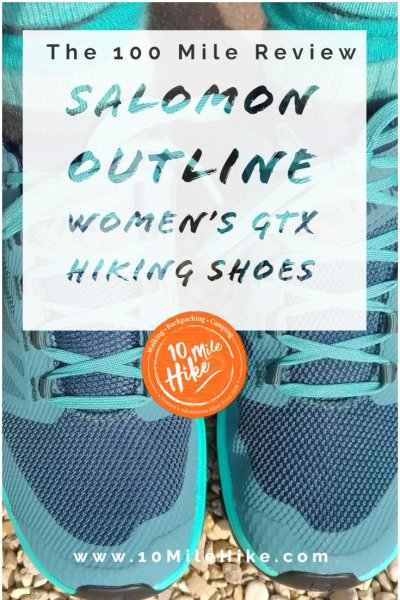 Salomon OUTline hiking shoes - what are they like after 100 miles hiking on The South West Coast Path in the UK? A brilliant 9/10 - here's why you should try them too!