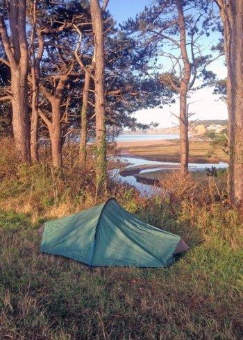 Wild Camping in Devon