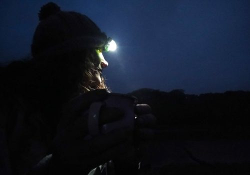 Wild Camping - coffee under the stars