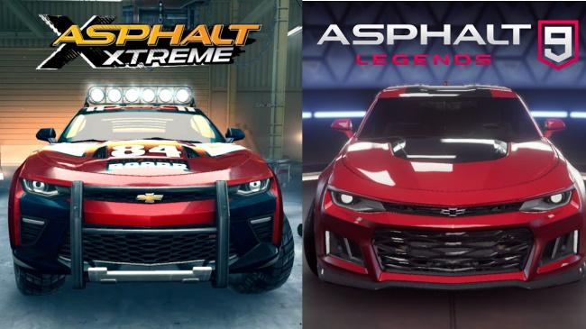 Asphalt 9 Legends and Asphalt Xtreme