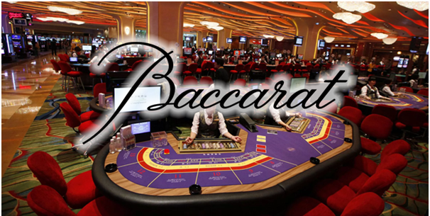 Baccarat game at online casinos