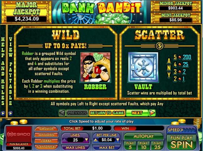 Bank Bandit (NuWorks Gaming)