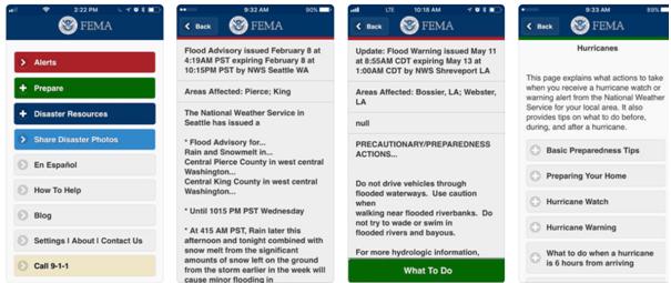Fema app for storms