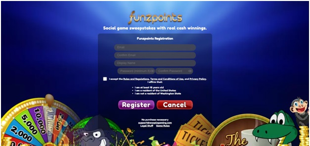 How to play at Funzpoints Casino to win real cash- register yourself