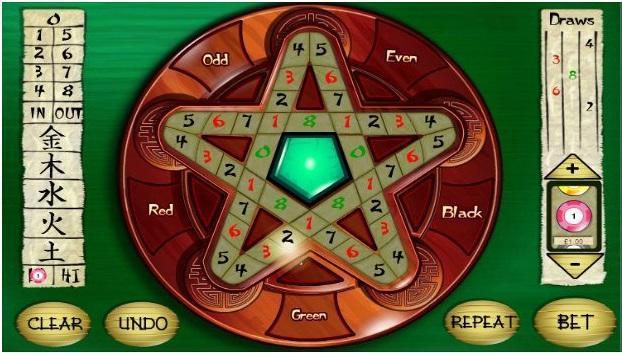 Lucky star roulette app