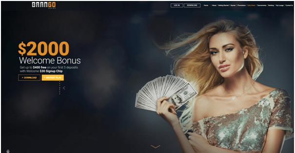 Brango Casino- No Deposit Bonus