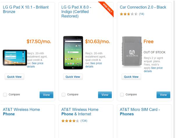 subsidized phones