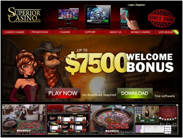 Superior casino roulette