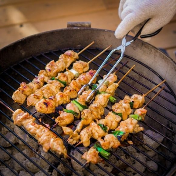 Yakitori is almost done!