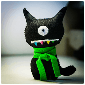 Homemade Ugly Doll