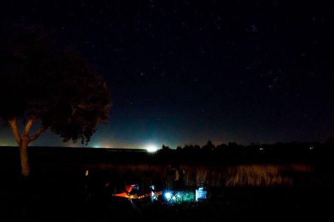 Night View, Choke Canyon State Park, 2014