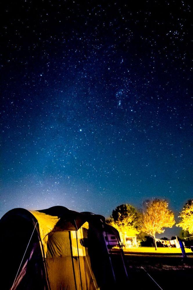 Night Sky, Choke Canyon State Park, 2014