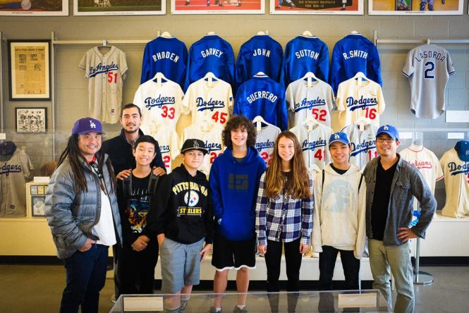 """""""Visiting the Dodgers Museum"""" Los Angeles, 2016"""