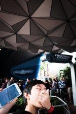 """Outside Spaceship Earth"" Orlando, 2017"