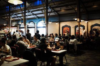 """Lunch at Les Halles Boulangerie-Patisserie"" Orlando, 2017"