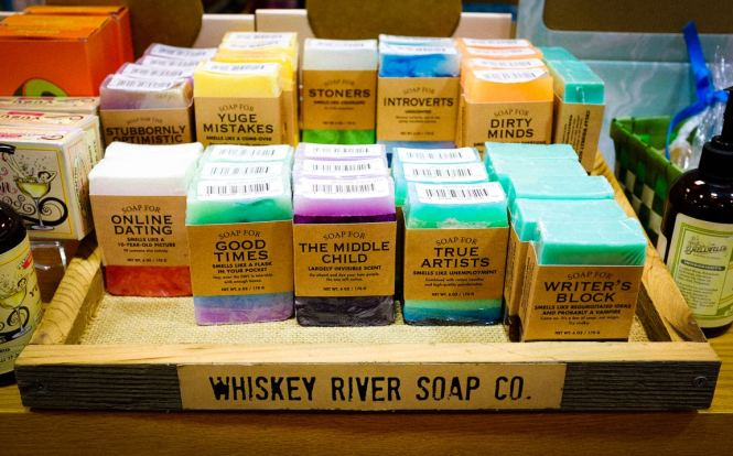 """Soap Selection"" Austin, 2017"