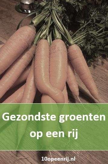 Gezondste groenten op een rij