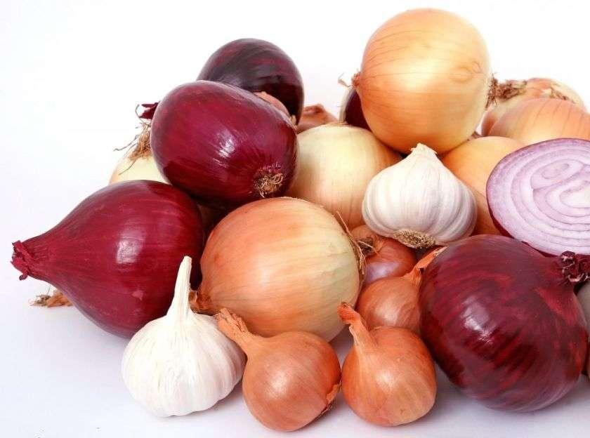 knoflook en uien look Gezondste groenten