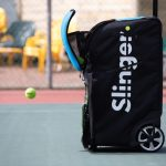 Tennis Ball  Machine? Tennis bag? The New Slinger Bag Is Both!