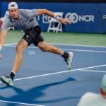John  Isner back in Atlanta ATP Tennis final, plays  rising star Brandon  Nakashima