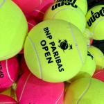 Frankie's Photos From Indian Wells California – Freebies, Books, and Jumbo Balls!
