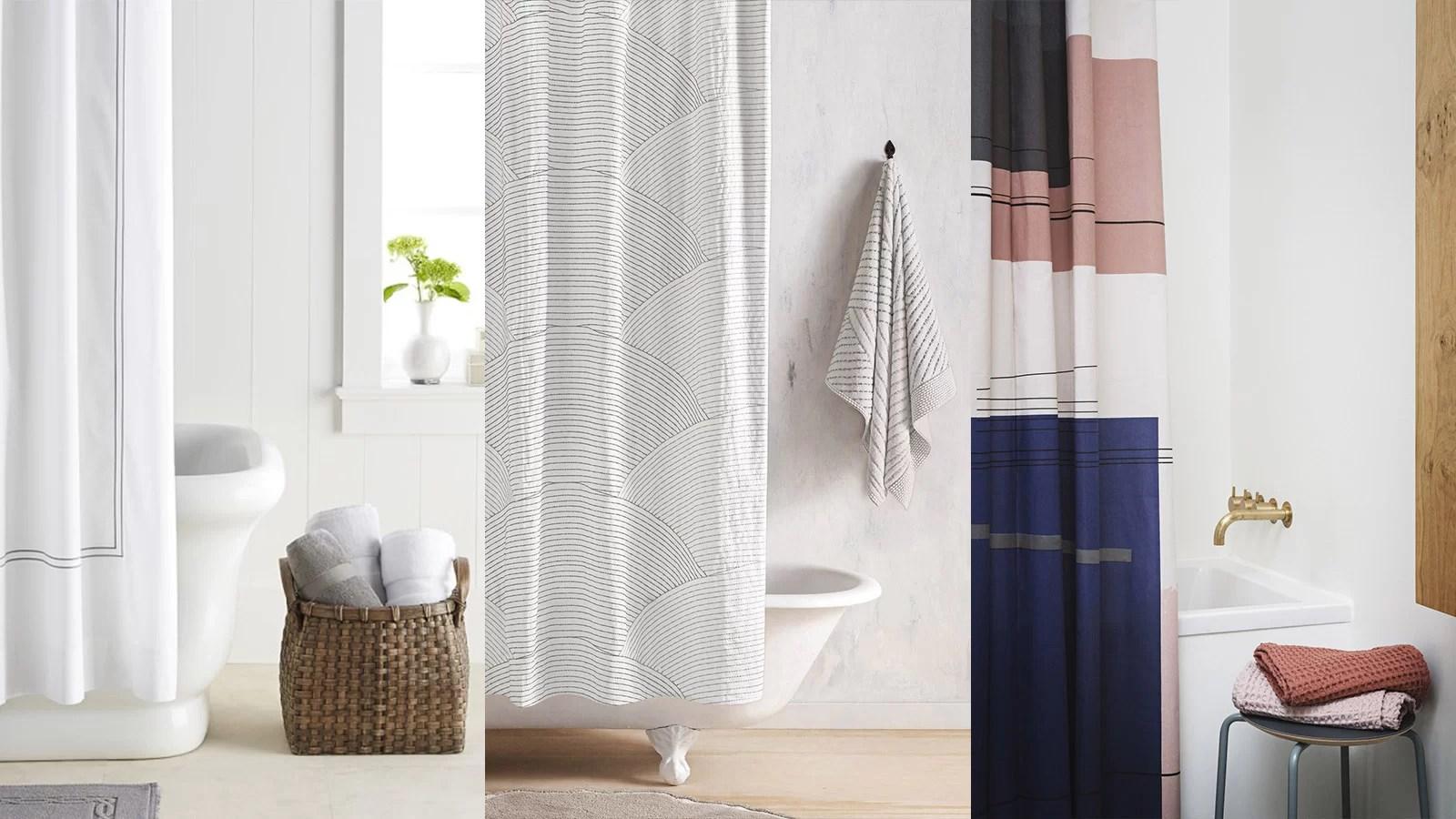 10 Stylish Shower Curtains For A Modern Bathroom 10