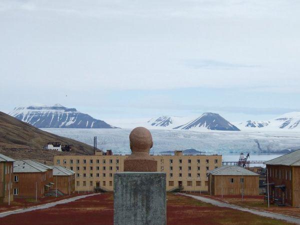 Pyramiden , Svalbard, Norway