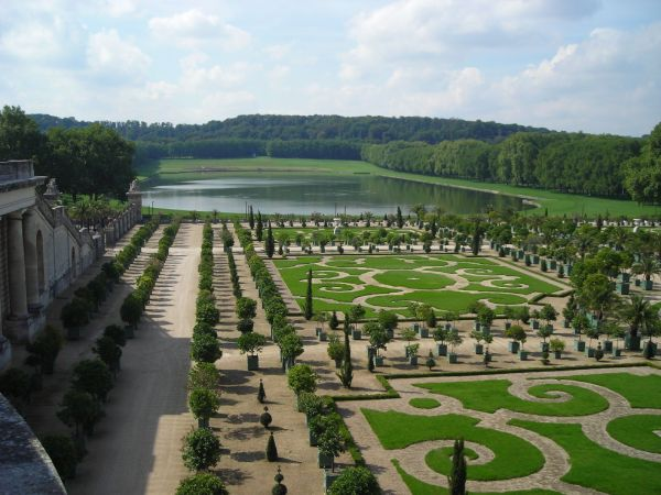 Gardens at the Versailles Palace, France