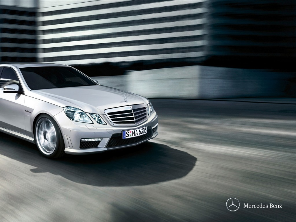 Exterior 2012 Mercedes Benz E Class Saloon HD Wallpaper