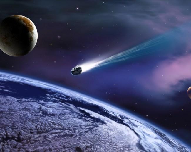 隕石イメージ