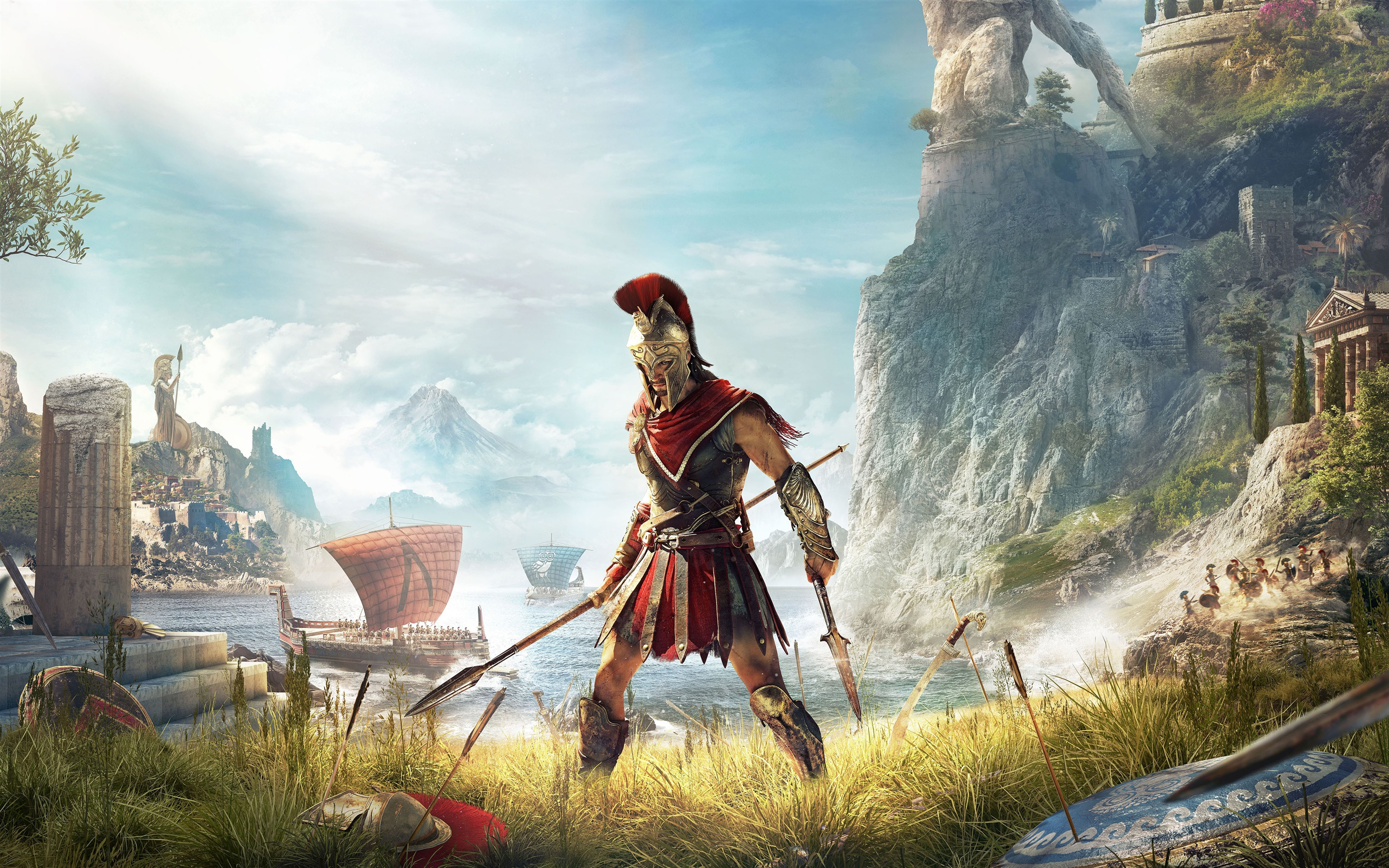 Assassins Creed Odyssey 2018 Gameplay 4K Poster Preview